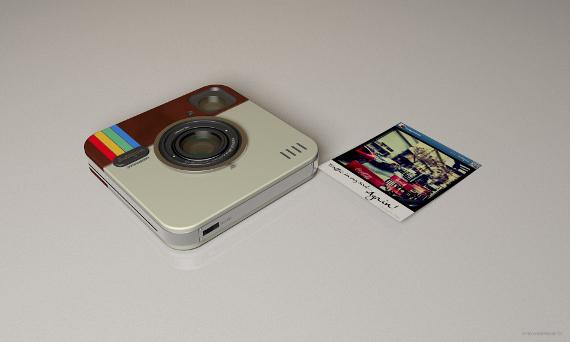 instagram socialmatic camera concept 08 กล้อง Instagram Socialmatic