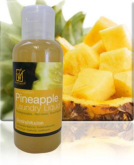 น้ำยาซักผ้าสับปะรด Micro-organism Pineapple Washing Liquid 3 - Pineapple