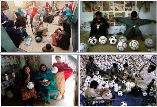 Sialkot in Pakistan is the Largest Producer of Footballs เมืองที่มีความสำคัญต่อวงการฟุตบอลมากที่สุดแห่งหนึ่งของโลก 16 - Footballs