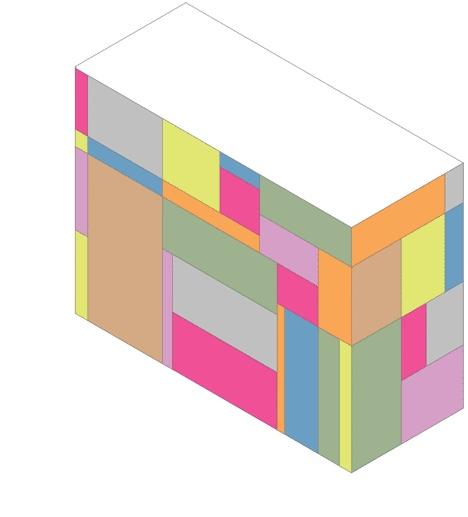 25550613 105406 แผงลอย.. ที่ปิดเก็บแล้วกลายเป็นกล่องหลากสี สวยงาม