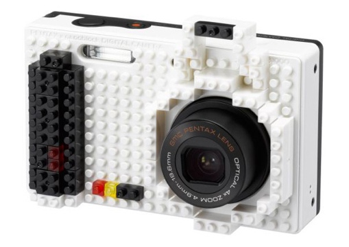 25550617 194125 NB1000 กล้องที่ตกแต่งให้แตกต่างด้วยตัวต่อแบบเลโก้
