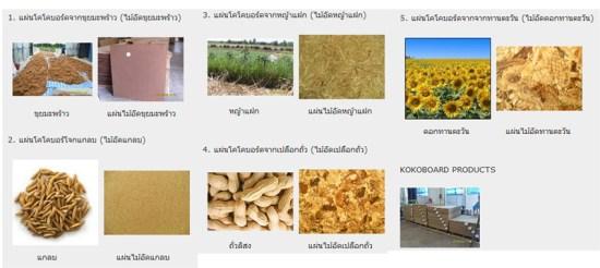 a31 550x246 KOKO Board เฟอร์นิเจอร์ที่ผลิตจากวัสดุเหลือใช้ทางการเกษตร