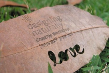 idea eco-friendly name card