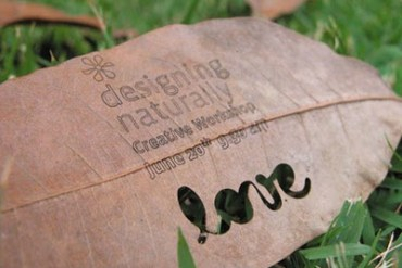 idea eco-friendly name card 15 - paper product