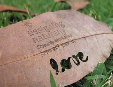 idea eco-friendly name card 16 - Business Card