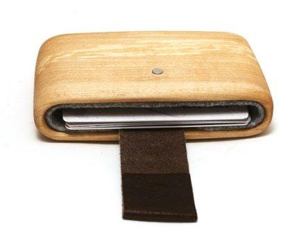 WOODWALLET กล่องเก็บนามบัตรทำจากไม้ 16 - case