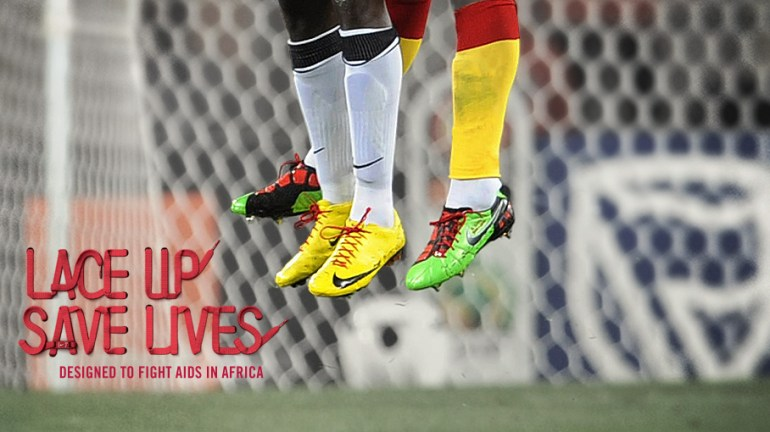 LACE UP SAVE LIVES ผูกเชือก ช่วยชีวิต  19 - football