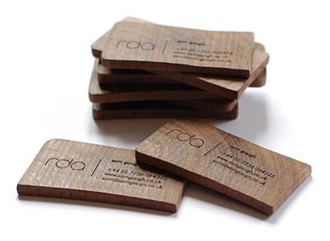 rda business card1 479x350 idea eco friendly name card