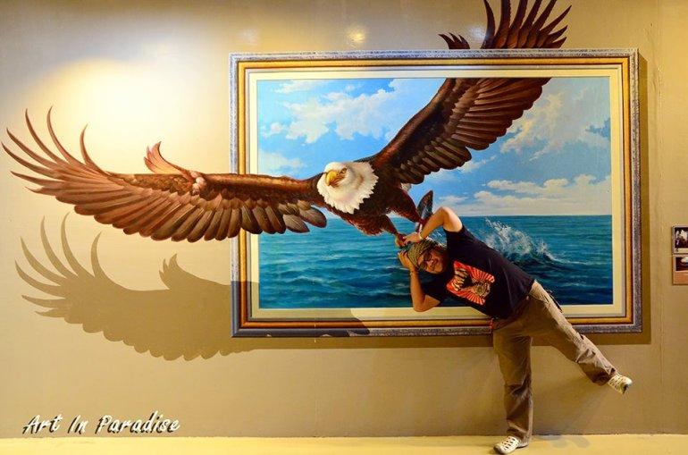 Art in Paradise Pattaya พิพิธภัณฑ์ภาพจิตรกรรม 3 มิติ สนุกสนานไปกับภาพวาดลวงตาทะลุมิติ ที่พัทยา 19 - 100 Share+