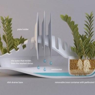 ที่พักจาน + กระถางต้นไม้.. eco-friendlyอีกแล้วงานนี้ 14 - dish rack