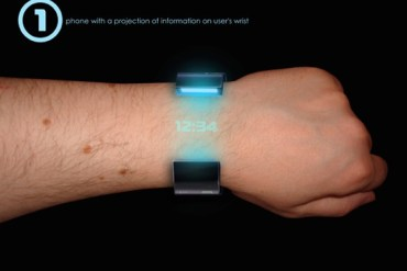 Rollerphone..สมาร์ทโฟน บนสายรัดข้อมือ แบบหนัง Sci-Fi เลย 15 - smartphone