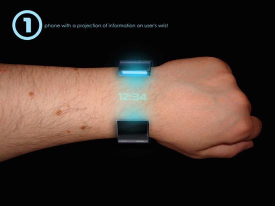 Rollerphone..สมาร์ทโฟน บนสายรัดข้อมือ แบบหนัง Sci-Fi เลย 16 - smartphone