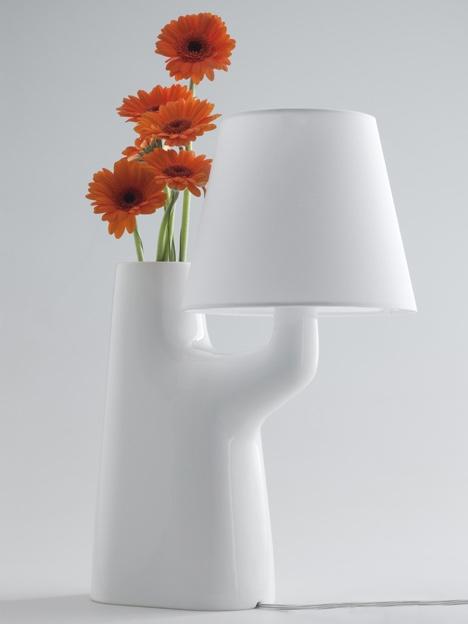 25550711 193705 แจกันโคมไฟ...ใช้การสัมผัสดอกไม้ เป็นสวิตช์เปิด ปิด