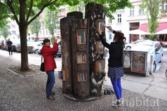 25550717 144321 Book Forest..ป่าหนังสือ จุดแลกเปลี่ยนหนังสือ ส่งเสริมนิสัยรักการอ่าน และสอนให้รู้คุณค่าของป่า