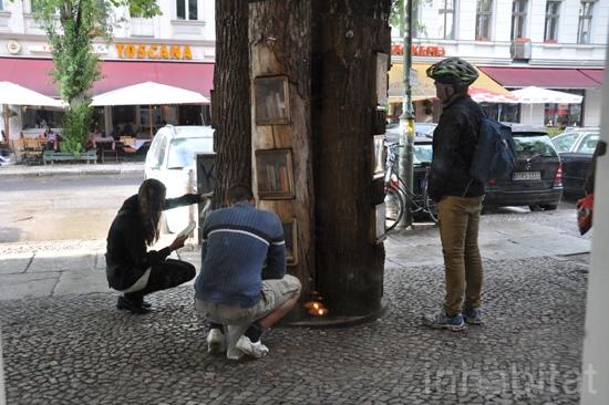 25550717 144349 Book Forest..ป่าหนังสือ จุดแลกเปลี่ยนหนังสือ ส่งเสริมนิสัยรักการอ่าน  และสอนให้รู้คุณค่าของป่า