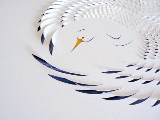 25550721 183846 งานศิลปจากการตัดกระดาษ  โดย Lisa Rodden