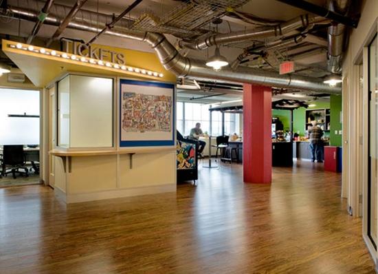 25550727 175944 Google office ในเมืองPittsburgh..สะท้อนประวัติศาสตร์เมือง เป็นมิตรกับสิ่งแวดล้อม และไม่ขาดความสนุกสนาน...