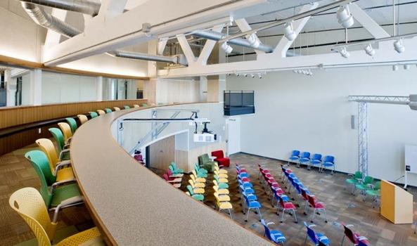 25550727 180010 Google office ในเมืองPittsburgh..สะท้อนประวัติศาสตร์เมือง เป็นมิตรกับสิ่งแวดล้อม และไม่ขาดความสนุกสนาน...