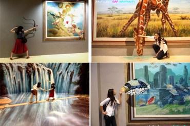 Art in Paradise Pattaya พิพิธภัณฑ์ภาพจิตรกรรม 3 มิติ สนุกสนานไปกับภาพวาดลวงตาทะลุมิติ ที่พัทยา 19 - Gallery