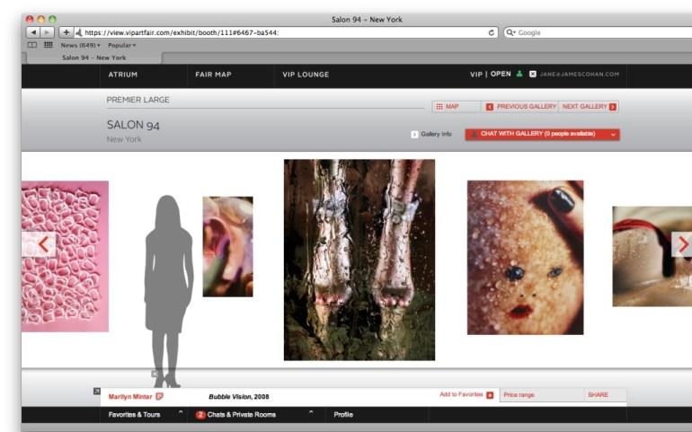 VIP online art fair ออนไลน์แสดงผลงานศิลปะผ่านทางอินเทอร์เน็ต และพูดคุยกับบรรดานักสะสมและตัวแทนจากแกเลอรี่ต่างๆผ่านทาง Skype หรือทาง MSN 19 - VIP online Art Fair