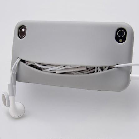 Feed Me iPhone Case...เคสน่ารักๆ มีปากยิ้ม ไว้ใส่ของ 15 -
