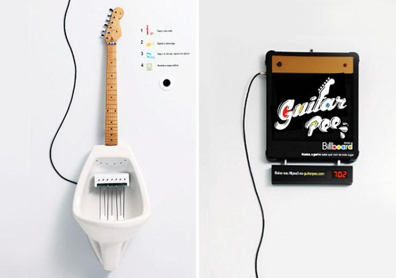 Make Your Own MPee 3 With a Guitar Urinal...โถปัสสาวะกีต้าร์ 13 - Guitar