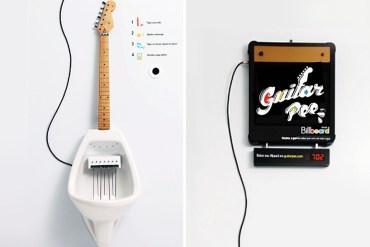 Make Your Own MPee 3 With a Guitar Urinal...โถปัสสาวะกีต้าร์ 17 - DESIGN