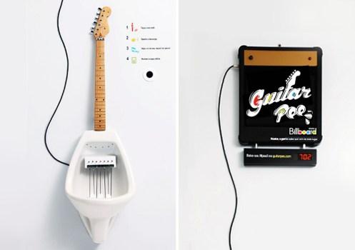 Make Your Own MPee 3 With a Guitar Urinal...โถปัสสาวะกีต้าร์ 15 - Guitar