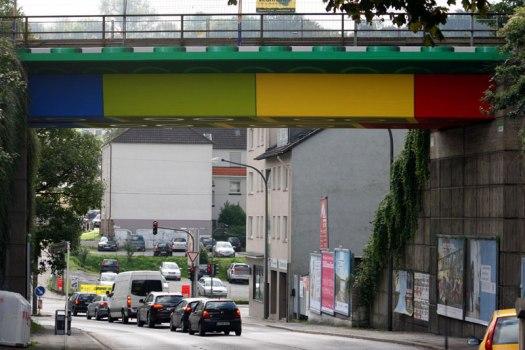 LEGO bridge in germany สะพานเลโก้ 15 - bridge