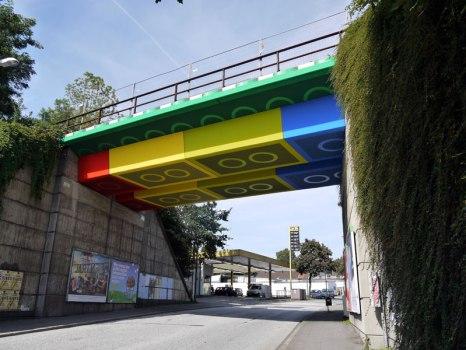 LEGO bridge in germany สะพานเลโก้ 3 - bridge