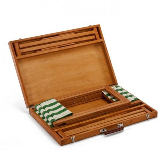 pic nick folding table gessato gselect 2 designrulz ชุดโต๊ะ เก้าอี้ To Go... พับเก็บเป็น กระเป๋าไม้สวยงาม
