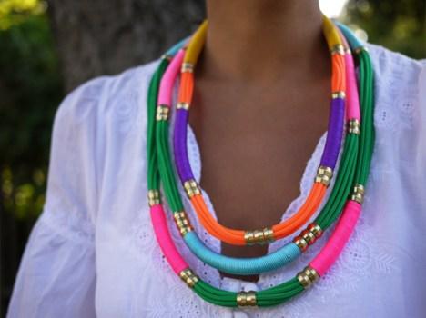 ropenecklace111 468x350 DIY.Rope Necklace ของขวัญให้คุณแม่