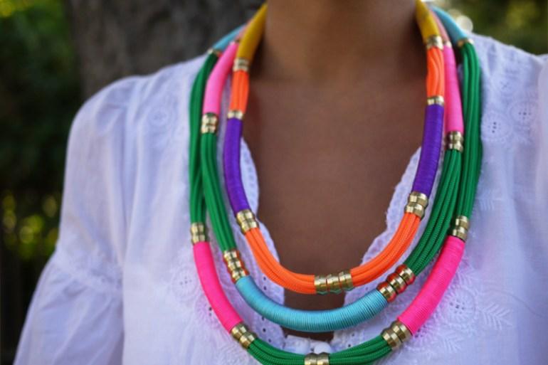 DIY.Rope Necklace ของขวัญให้คุณแม่ 32 - Gift