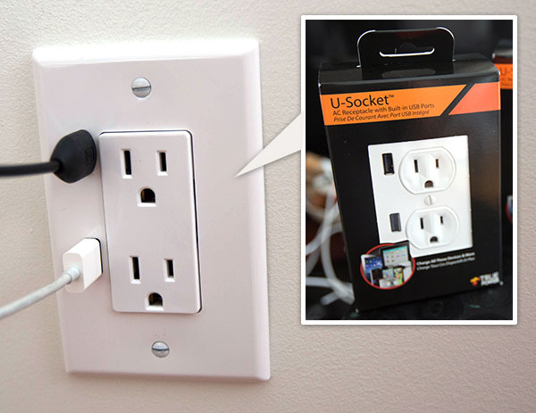 U-SOCKET USB OUTLETS ชาร์จแบบไม่ง้อ adapter 13 - blackberry