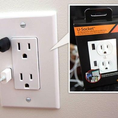 U-SOCKET USB OUTLETS ชาร์จแบบไม่ง้อ adapter 19 - blackberry