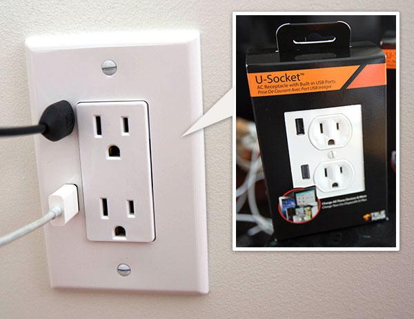 U-SOCKET USB OUTLETS ชาร์จแบบไม่ง้อ adapter 17 - smartphone