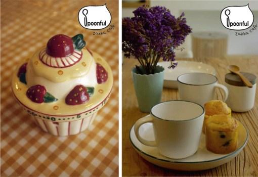 """Spoonful Zakka Café """"สปูนฟูล สักกะ คาเฟ่"""" ชั้น2 โครงการ The Portico ซอยหลังสวน 19 -"""