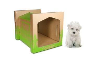 Dog & Cat paper house 36 - cardboard
