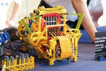 เครื่องทอผ้าจาก Lego 4 - education toy
