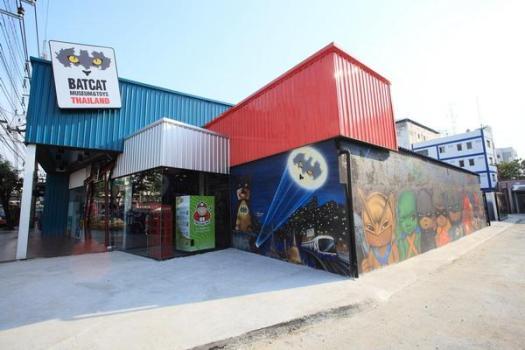 385617 436399653039119 22560098 n 525x350 Batcat Museum & Toys Thailand รวมของสะสมแบทแมนใหญ่ที่สุดในเอเซีย