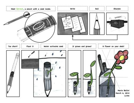 Sprout..ดินสอที่กลายร่างเป็นต้นไม้เมื่อเขียนต่อไม่ได้แล้ว 14 - eco-friendly