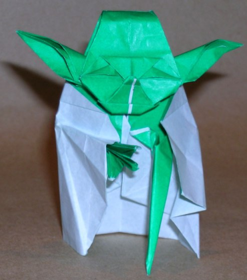 Yoda Green มาพับกระดาษ Origami เป็น Yoda กัน