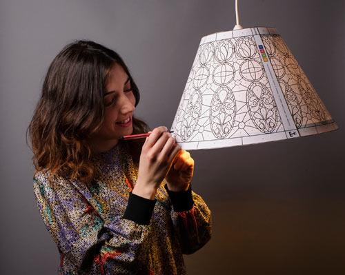Paper lamp ที่สร้างสรรค์เองได้ 13 -