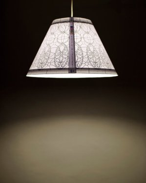 color by number tiffany style lamp 8 299x375 Paper lamp ที่สร้างสรรค์เองได้