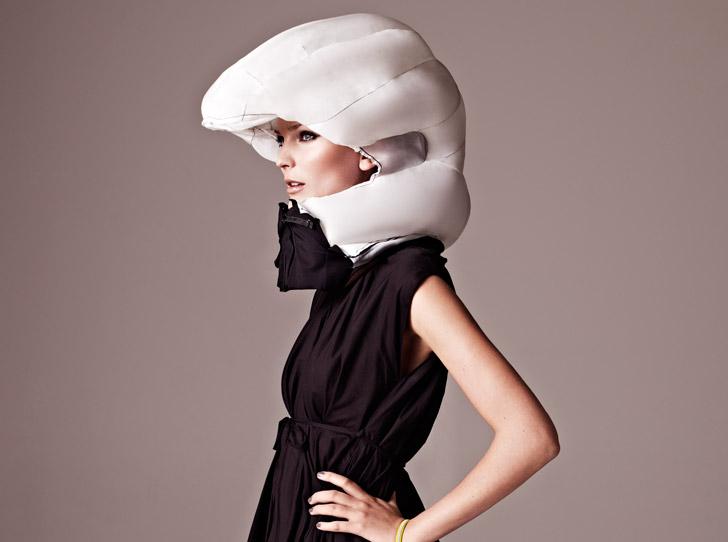 Invisible Bike Helmet...หมวกกันน๊อกแบบล่องหน 13 - helmet