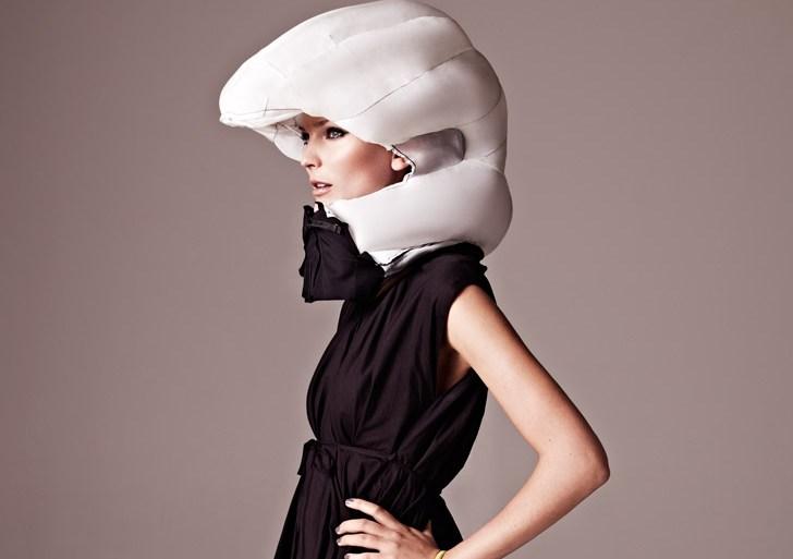Invisible Bike Helmet...หมวกกันน๊อกแบบล่องหน 13 - invisible helmet