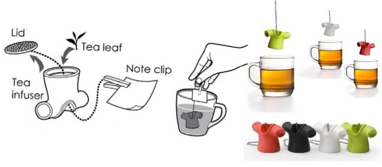 Tea Shirt ทีเชิ๊ต-ถุงใส่ชา 16 - Qualy