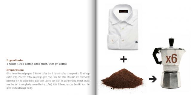 "DIY Part 2: Shirt Dipped in Coffee เปลี่ยนเสื้อตัวเก่าสีขาว เป็นเสื้อตัวใหม่สีน้ำตาลคลาสสิก ด้วย ""เมล็ดกาแฟ"" 15 - Coffee"