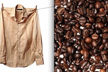 "DIY Part 2: Shirt Dipped in Coffee เปลี่ยนเสื้อตัวเก่าสีขาว เป็นเสื้อตัวใหม่สีน้ำตาลคลาสสิก ด้วย ""เมล็ดกาแฟ"" 2 - Shirt"