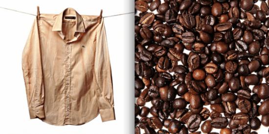 "DIY Part 2: Shirt Dipped in Coffee เปลี่ยนเสื้อตัวเก่าสีขาว เป็นเสื้อตัวใหม่สีน้ำตาลคลาสสิก ด้วย ""เมล็ดกาแฟ"" 14 - Coffee"